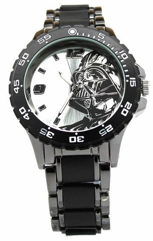 Star Wars Darth Vader Watch with Black Metal Bracelet (DAR2001)