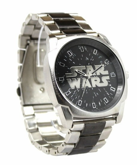 Star Wars Logo Metal Bracelet Watch (STW2307) - SuperheroWatches.com