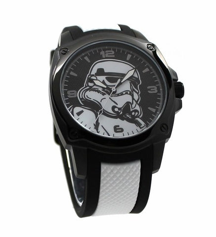 Stormtrooper Stainless Steel Limited Edition Star Wars Watch Comic Con Exclusive (STM1113) - SuperheroWatches.com