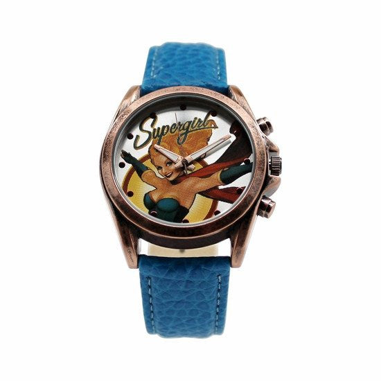Supergirl DC Comics Bombshell Watch (SGL5031) - SuperheroWatches.com