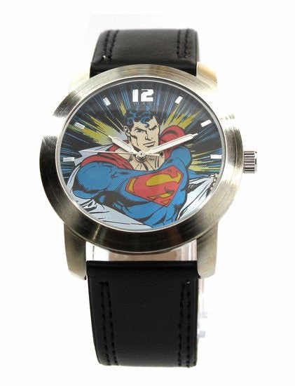Superman Classic Strap Watch (SUP5060)