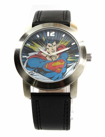 Superman Classic Strap Watch (SUP5060) - SuperheroWatches.com