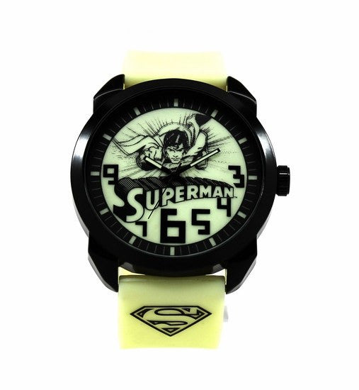 Superman Kryptonite Glow in the Dark Watch (SUP9096) - SuperheroWatches.com