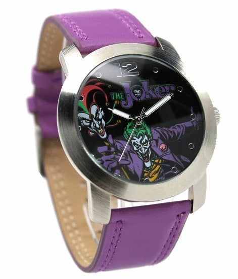 The Joker Classic Character Watch (JKR 5001) - SuperheroWatches.com
