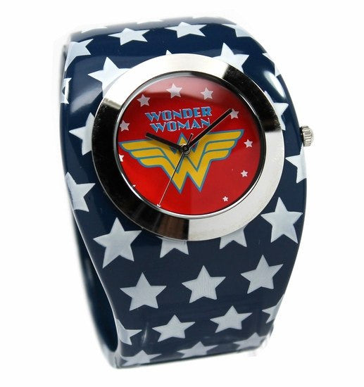 Wonder Woman Bangle Watch (WOW 8003) - SuperheroWatches.com