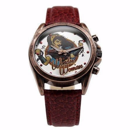 Wonder Woman DC Comics Bombshell Watch (WOW5025) - SuperheroWatches.com