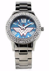 Wonder Woman Justice Silver-tone Watch