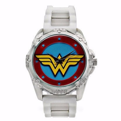 Wonder Woman White Watch (WOW9047) - SuperheroWatches.com