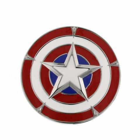 Captain America Shield Belt Buckle - SuperheroWatches.com
