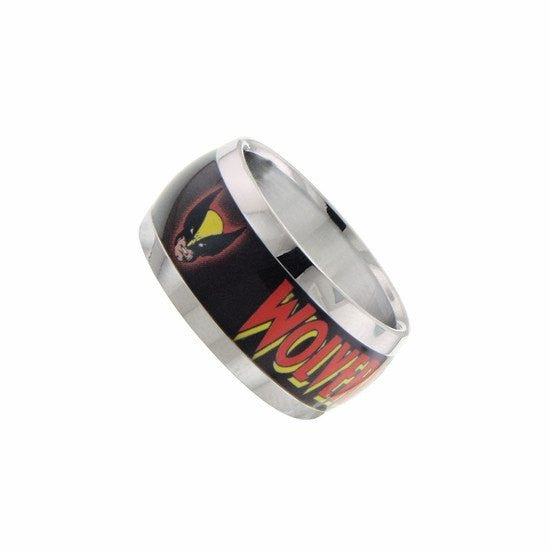 Wolverine Head Logo Graphic Ring Size 8 - SuperheroWatches.com