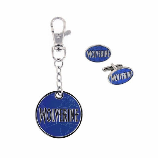 Wolverine Dog Tag Necklace & Key Ring Box Set - SuperheroWatches.com