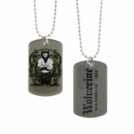 Wolverine Double Sided Dog Tag Necklace - SuperheroWatches.com