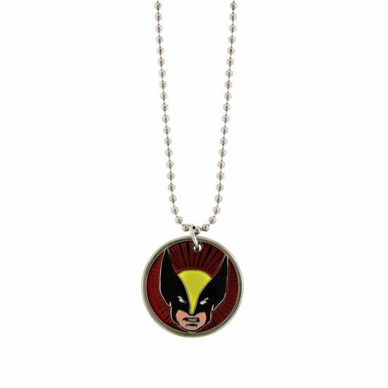 Wolverine Round Pendant Necklace - SuperheroWatches.com