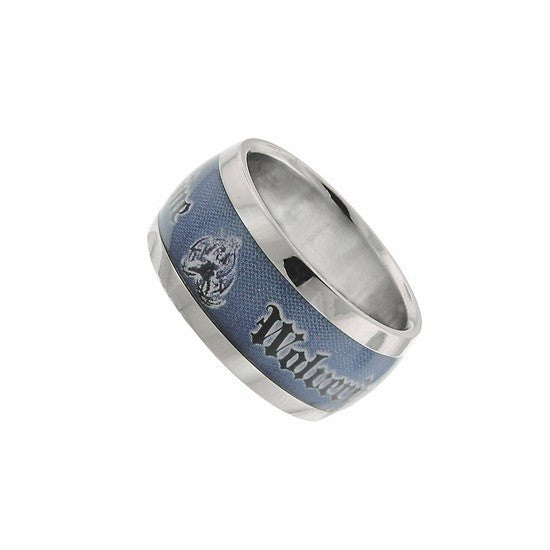 Blue Wolverine Logo Graphic Ring Size 12 - SuperheroWatches.com