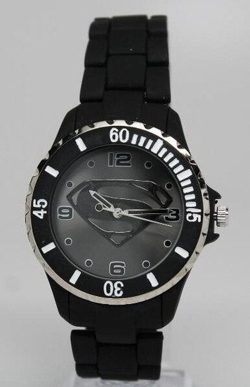Superman Man of Steel Watch Black (MOS8004) - SuperheroWatches.com