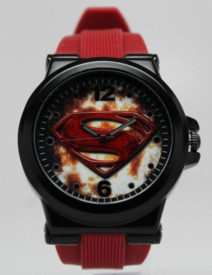 Superman Man of Steel Watch (MOS9018) - SuperheroWatches.com