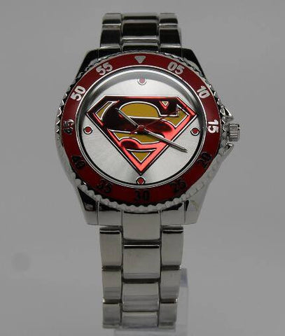 Superman Man of Steel Watch (SUP8003) - SuperheroWatches.com