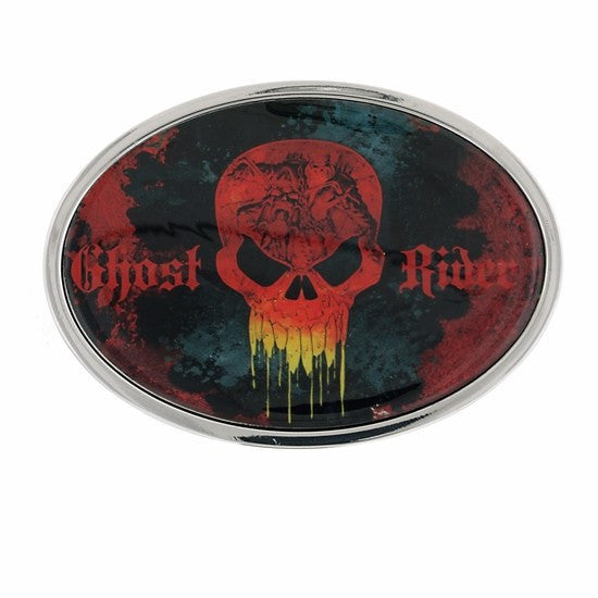 Ghost Rider Skull Graphic Buckle - SuperheroWatches.com