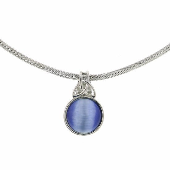 Thor Blue Stone Pendant Necklace - SuperheroWatches.com