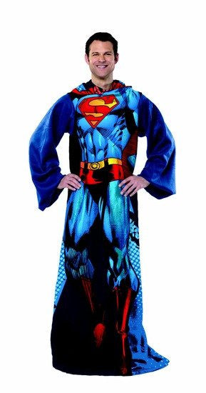 Superman - World Hero Costume Comfy Throw