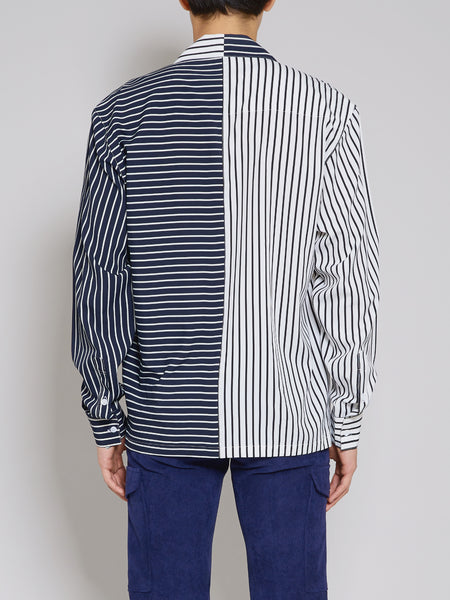 'My Late 20s' Striped Long-Sleeve Shirt