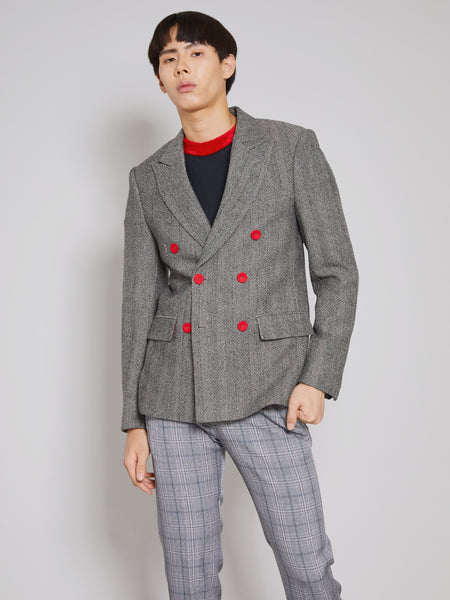 'Ex-es' Double-Breasted Blazer