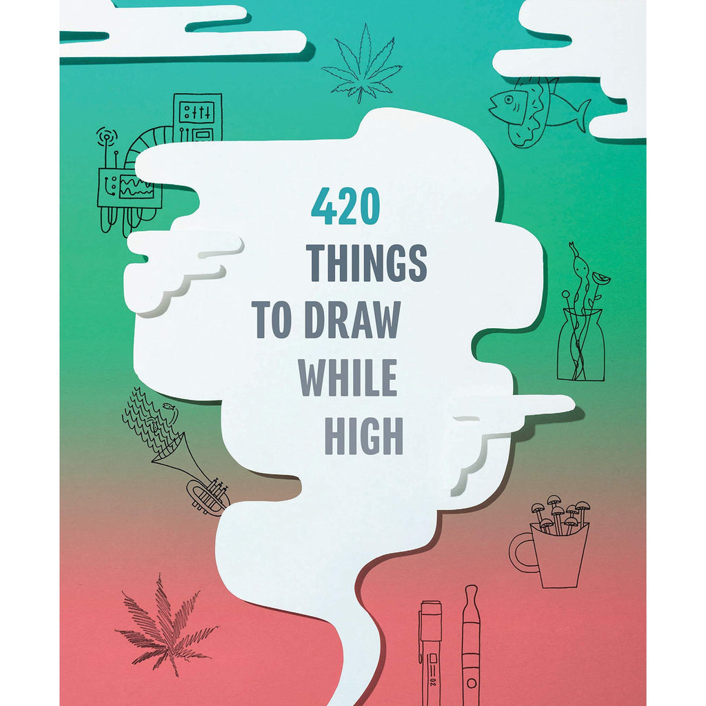 420 THINGS TO DO DRAW WHILE HIGH-HACHETTE BOOK GROUP-Kitson LA