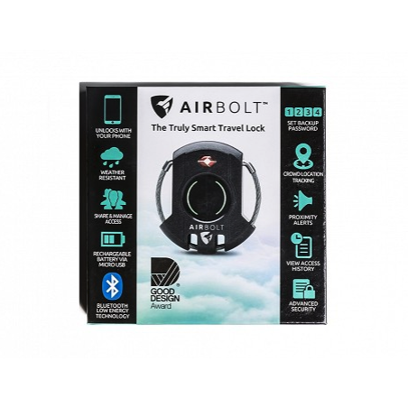 AIRBOLT: GPS CONNECTED SMART TRAVEL LOCK-THE GROMMET-Kitson LA
