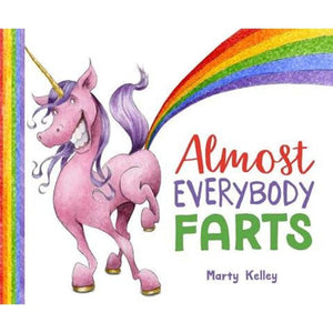 ALMOST EVERYONE FARTS-STERLING PUBLISHING-Kitson LA