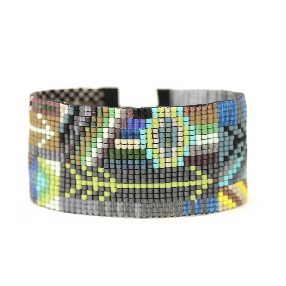 ARROWS BEADED CUFF-JULIE ROFMAN JEWELRY-Kitson LA