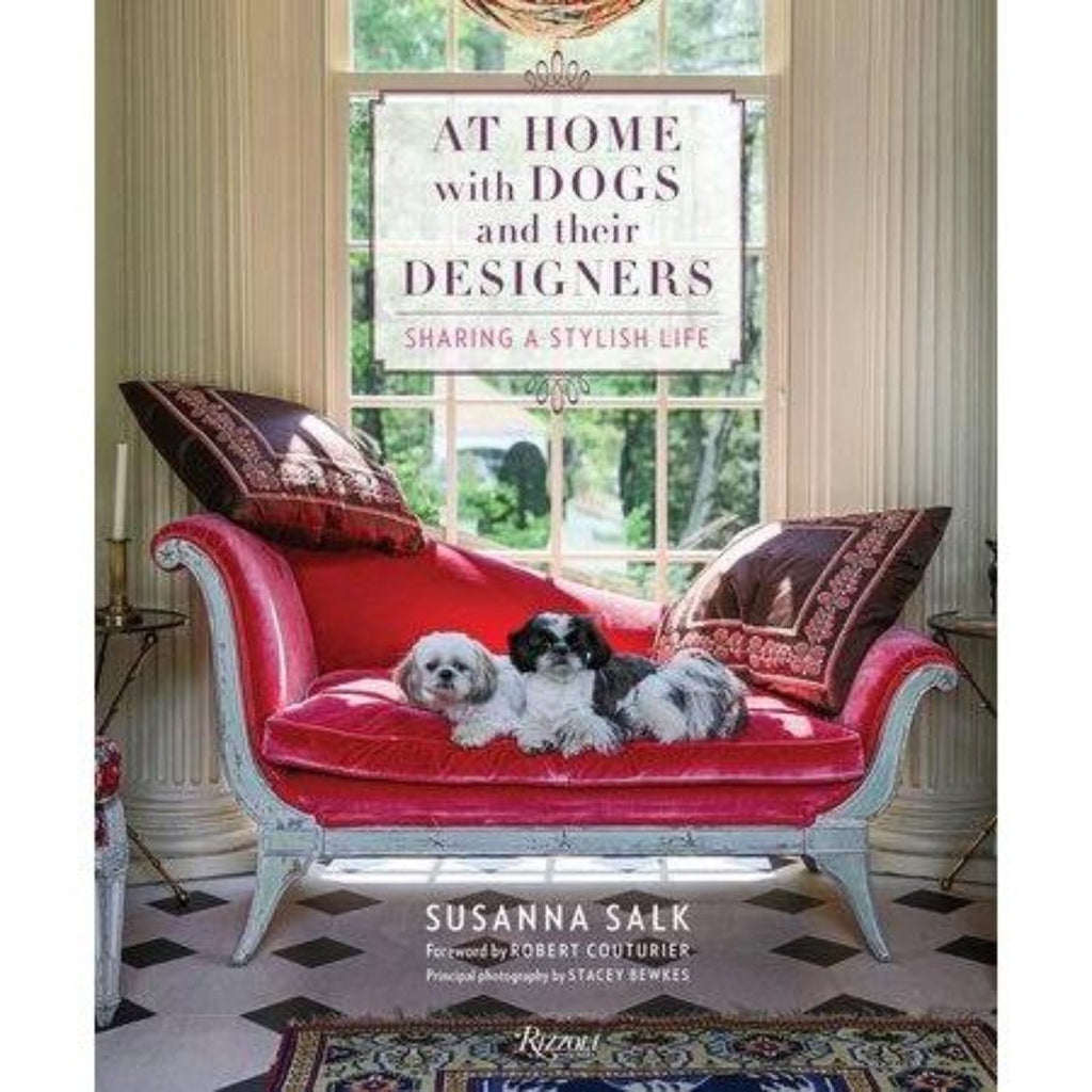 AT HOME WITH DOGS AND DESIGNERS-PENGUIN RANDOM HOUSE-Kitson LA