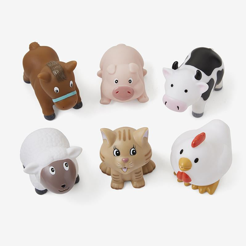 BARNYARD PARTY SQUIRTIES-ELEGANT BABY-Kitson LA
