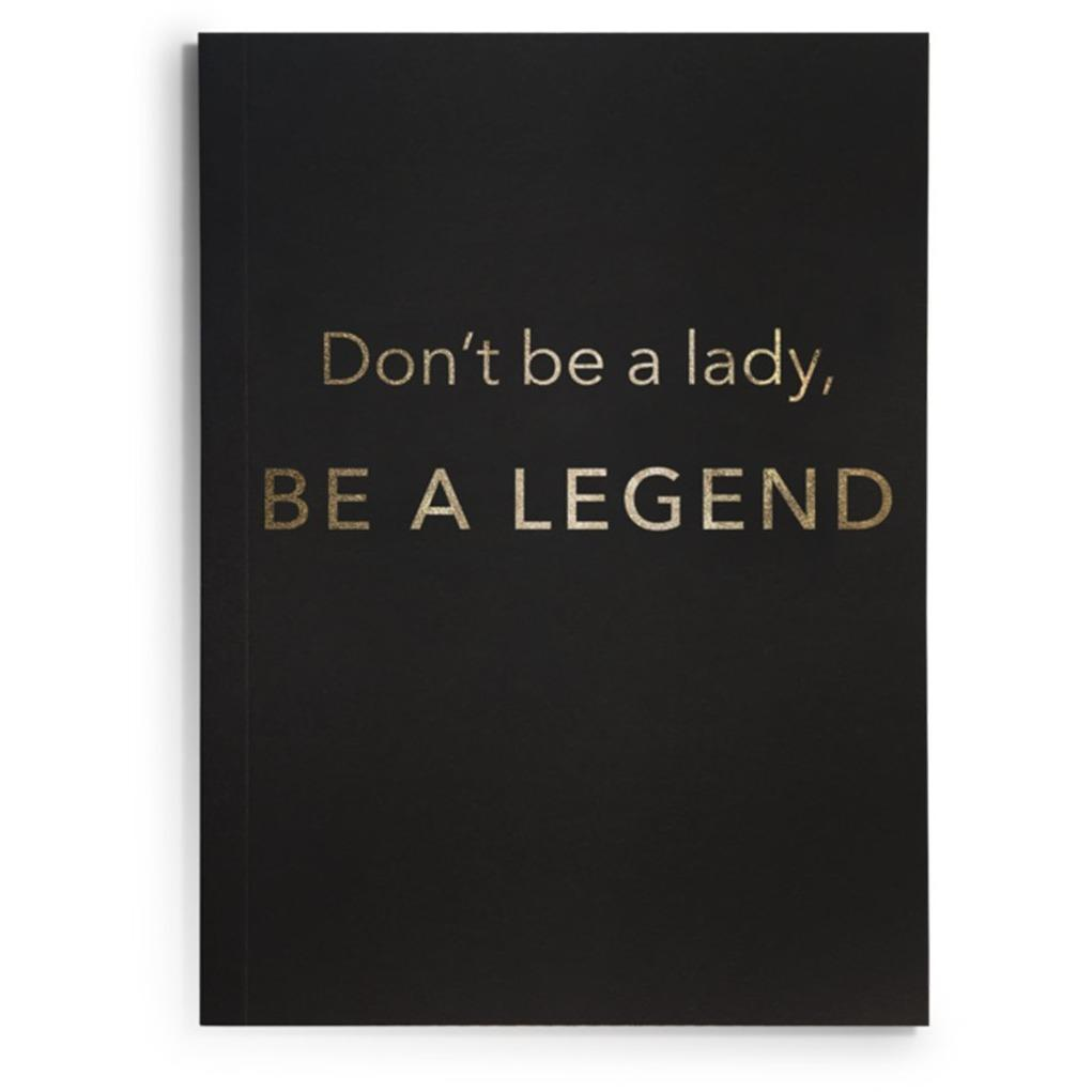 BE A LEGEND JOURNAL-LATC-Kitson LA