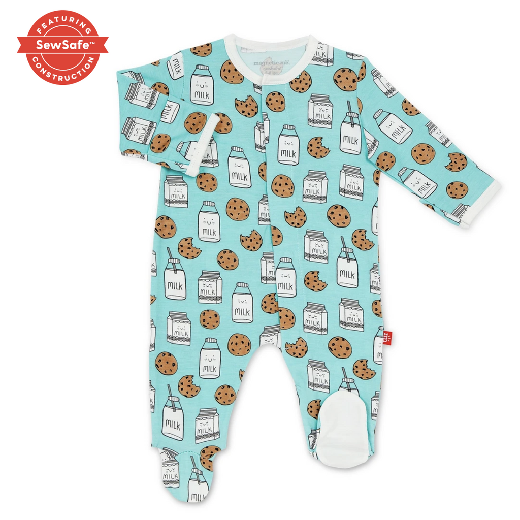BEDTIME STORIES MAGNETIC BABY FOOTIE-MAGNETIC ME-Kitson LA