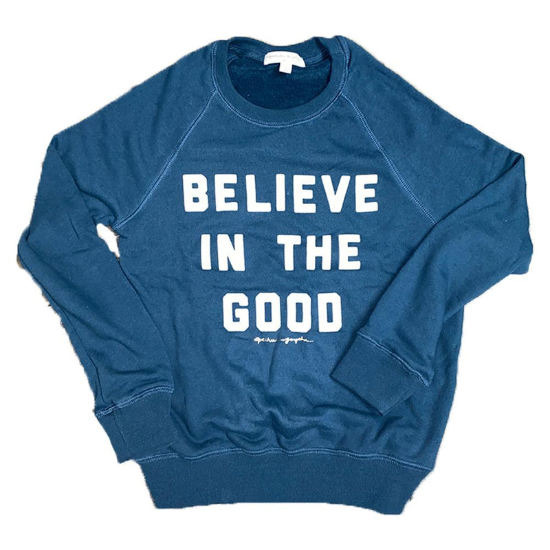 BELIEVE IN THE GOOD OLD SCHOOL PULLOVER-SPIRITUAL GANGSTER-Kitson LA
