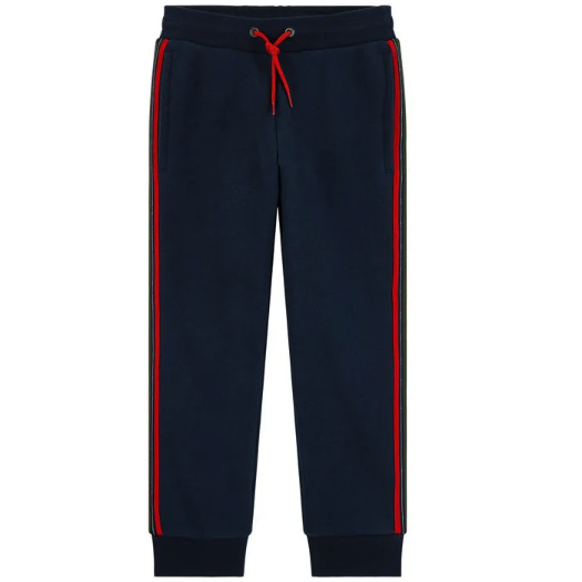 BOYS VELIO TROUSERS NAVY-PAUL SMITH-Kitson LA