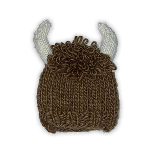 BUFFALO BILL KNITTED BABY HAT-BLUEBERRY HILL-Kitson LA