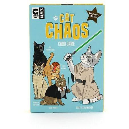 CAT CHAOS CARD GAME-GINGER FOX-Kitson LA