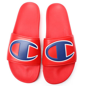 CHAMPION YOUTH IPO SLIDE SANDALS RED-CHAMPION-Kitson LA