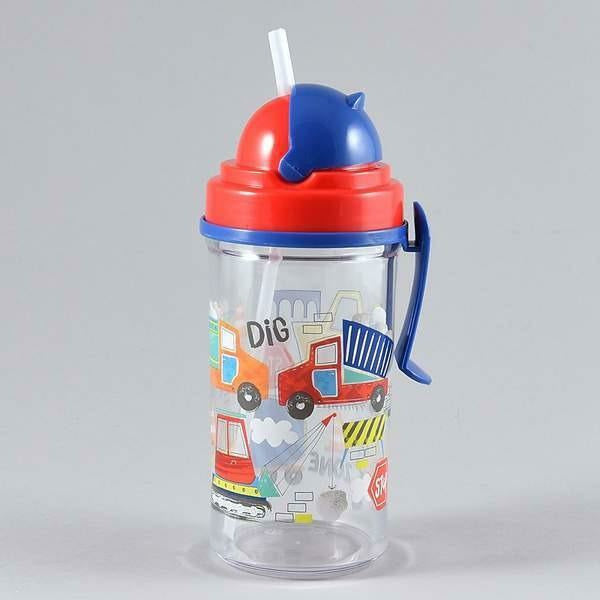 CONSTRUCTION WATER BOTTLE-FLOSS & ROCK-Kitson LA