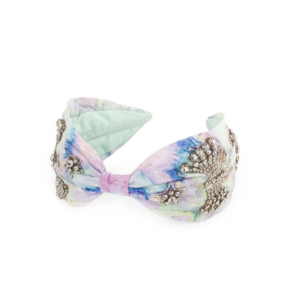 CRYSTAL BUTTERFLY HEADBAND-NAMJOSH-Kitson LA