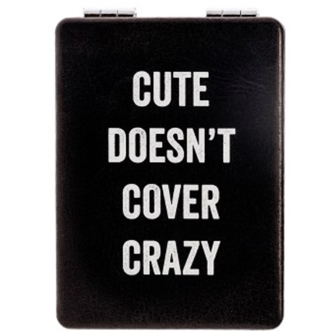 CUTE DOESN'T COMPACT MIRROR-SNARK CITY-Kitson LA