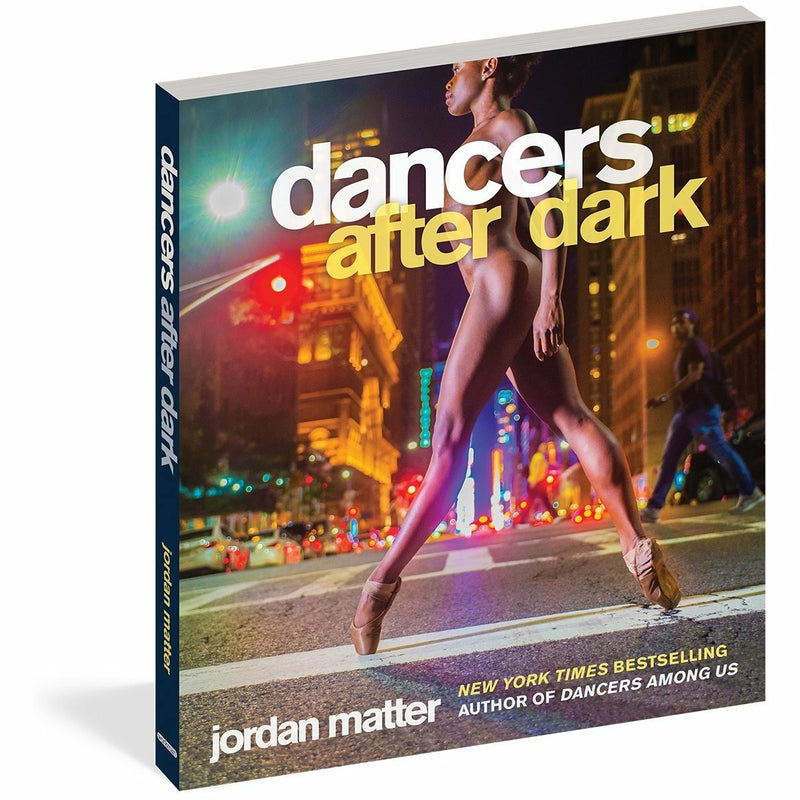 DANCERS AFTER DARK HARDCOVER-WORKMAN PUBLISHING-Kitson LA
