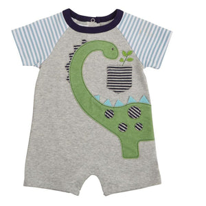 DINO RAGLAN ONE PIECE-MUD PIE-Kitson LA