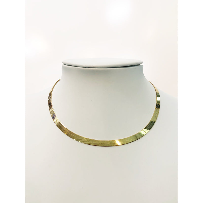 "DOUBLE FLASH 16"" NECKLACE-HRH COLLECTION-Kitson LA"