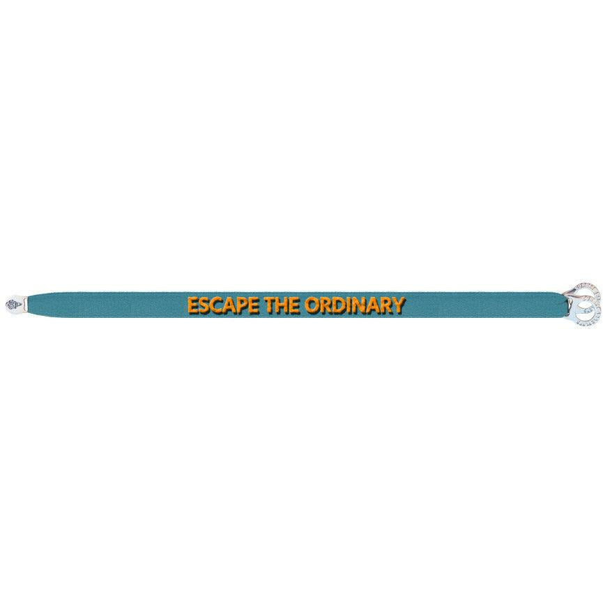 ESCAPE THE ORDINARY SATIN BRACELET-SORBET BRACELETS-Kitson LA