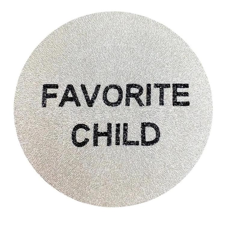 FAVORITE CHILD BEADED PLACEMAT-TIANA DESIGNS-Kitson LA