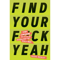 FIND YOUR F*CK YEAH-HACHETTE BOOK GROUP-Kitson LA