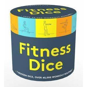 FITNESS DICE-CHRONICLE BOOKS-Kitson LA
