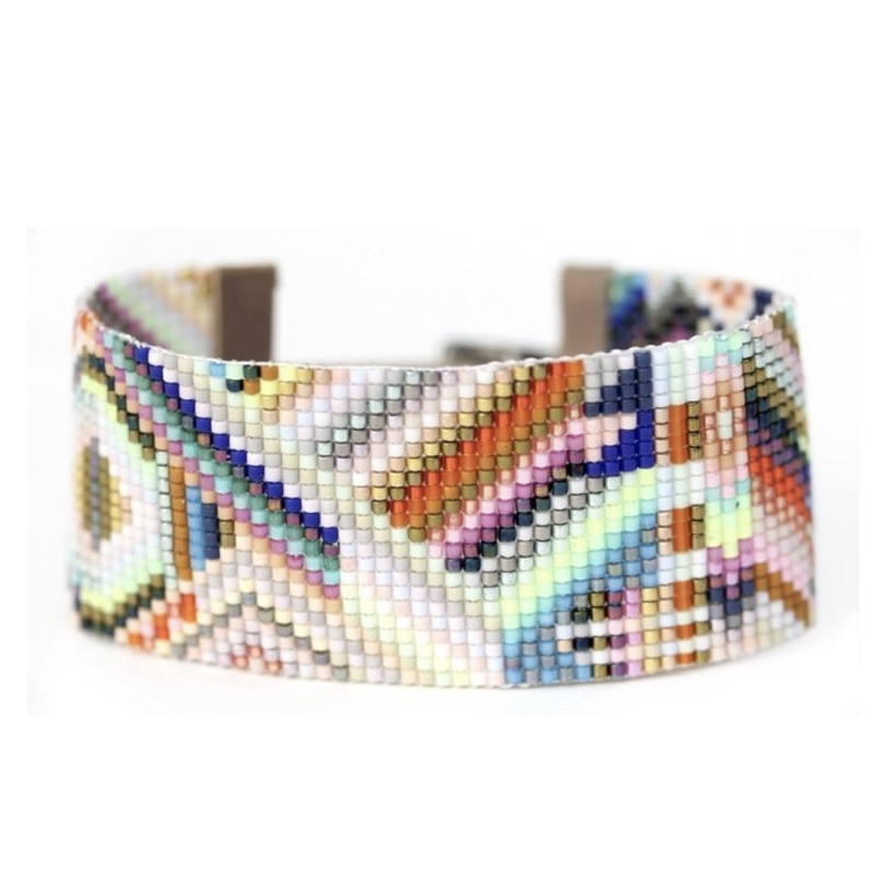 FLORES BEADED CUFF-JULIE ROFMAN JEWELRY-Kitson LA